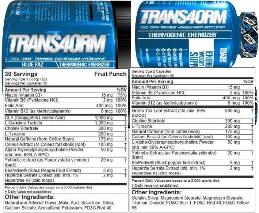 Trans4orm Differences