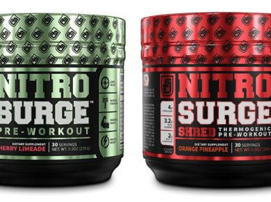 Jacked Factory Nitrosurge pre workout