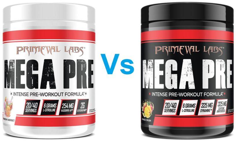 Primeval Labs Pre Workouts