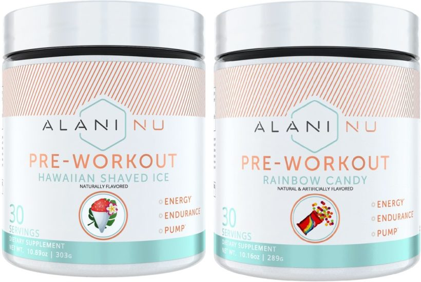 Alani pre workout for women