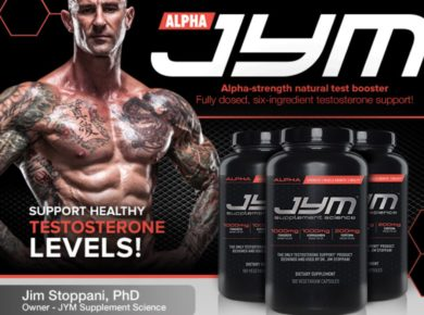 JYM Supplements Test Booster