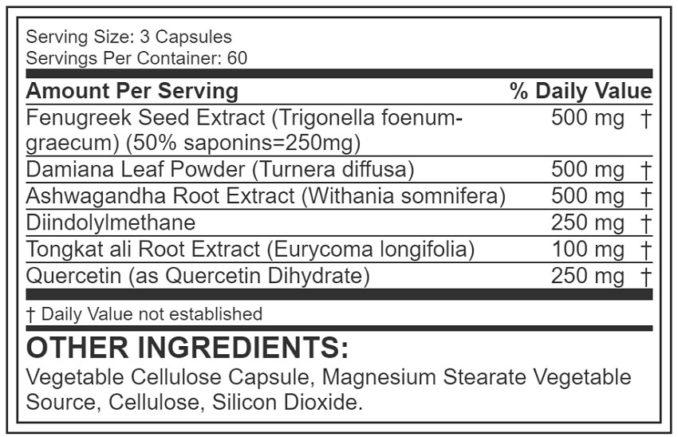 JYM Ingredients