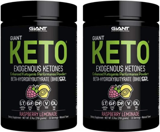 Giant Exogenous Ketones
