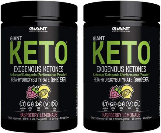 Giant Exogenous Ketones