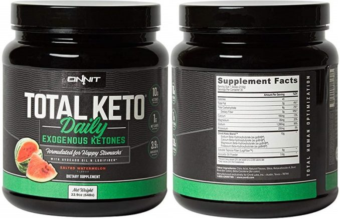 Total Keto Daily BHB Salts Powder