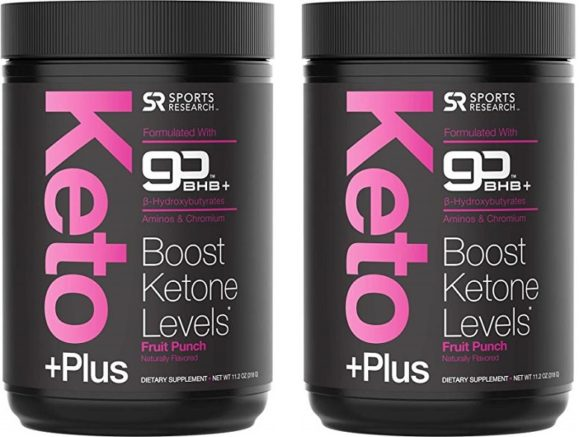 Keto Plus Exogenous Ketones