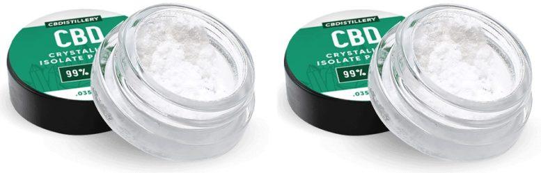 Crystallized CBD Extract