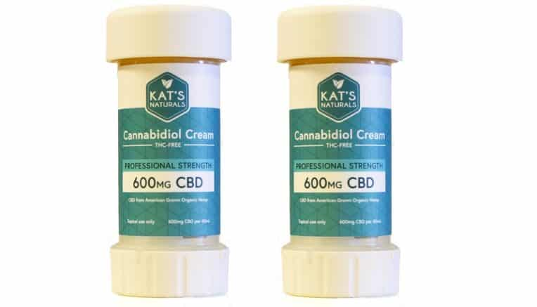 Professional CBD cream